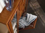 Wooden bathroom cabinet YORK   Tall bathroom cabinet - Cerasa