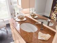 Wooden vanity unit with cabinets YORK 13 | Vanity unit - Cerasa