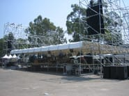 Modular system for steel platform and stand Audio/lights towers - Condor