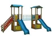 Play structure MAGIC CITY | 1005 - INDUSTRIA LEGNAMI TIRANO