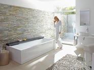 Rectangular acrylic bathtub NAHHO | Acrylic bathtub - DURAVIT