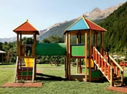 Play structure COUNTRY | 2032 - INDUSTRIA LEGNAMI TIRANO