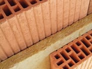 Clay block for internal partition TRAMEZZE POROTON® E POROTON PLAN™ - FORNACI LATERIZI DANESI