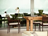 Garden armchair with armrests TRIBECA   Garden armchair - Dedon