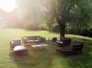 Rectangular garden side table TRIBECA | Rectangular coffee table - Dedon
