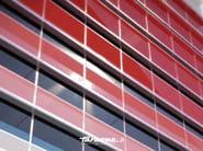 Glass and aluminium solar shading LINEA   Solar shading - FARAONE