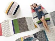 Wool pouf GLOBO   Pouf - GAN By Gandia Blasco