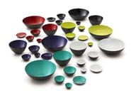 Steel serving bowl KRENIT | Serving bowl - Normann Copenhagen