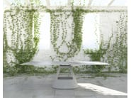 Rectangular cement dining table TABLE B | Cement table - BD Barcelona Design
