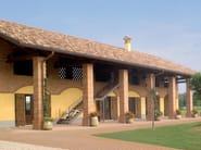 Special clay piece for fair faced facade Architecture elements - SanMarco – Terreal Italia