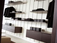 Sectional walk-in wardrobe MYWALL - MOVI ITALIA