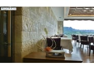 Artificial stone finish POBLET - SAS ITALIA - Aldo Larcher