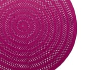 Round solid-color wool rug SHANG - Paola Lenti