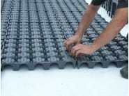 Roof garden system DRAINROOF - GEOPLAST