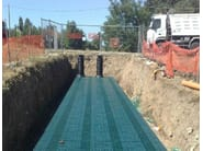 Drainage channel and part RIGO FILL Inspect - POZZOLI DEPURAZIONE