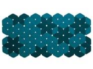 Patterned felt rug KALEIDOSCOPE - Paola Lenti