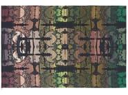 Patterned wool rug MIRRORING - Kasthall