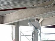 Fireproof plaster for fire protection MANDOLITE CP2 - Perlite Italiana