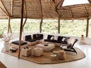 Corner garden armchair LOUNGE | Garden armchair - Dedon