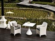 Square garden table SATELLITE | Table - Dedon