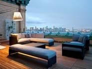 4 seater garden sofa SLIM LINE | 4 seater sofa - Dedon