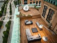 Modular garden sofa SLIM LINE | Garden sofa - Dedon