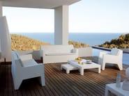 Resin garden armchair JUT | Garden armchair - VONDOM