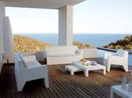 Resin garden sofa JUT | Garden sofa - VONDOM