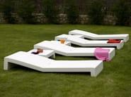 Resin garden daybed JUT | Garden daybed - VONDOM