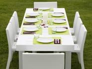 Extending resin garden table JUT | Extending garden table - VONDOM
