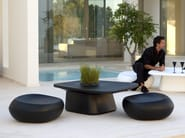 Polyethylene garden pouf MOMA AIR POUF - VONDOM
