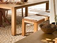 Teak garden bench KOS TEAK | Garden bench - TRIBÙ