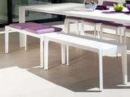 Aluminium garden bench MIRTHE | Garden bench - TRIBÙ