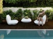 Polyethylene garden armchair PILLOW | Garden armchair - VONDOM