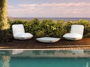 Polyethylene garden side table PILLOW | Garden side table - VONDOM