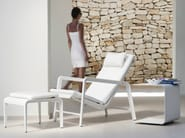 Recliner aluminium deck chair MIRTHE | Deck chair - TRIBÙ