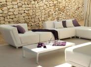 Low Rectangular garden side table MIRTHE SOFA | Garden side table - TRIBÙ