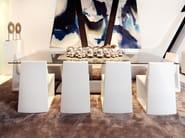 Rectangular glass table REST | Rectangular table - VONDOM