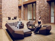 Modular garden sofa FAZ   Sofa - VONDOM