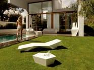 Low garden side table FAZ   Garden side table - VONDOM
