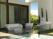 Low garden side table FAZ | Garden side table - VONDOM
