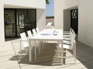 Rectangular garden table PICASS | Garden table - TRIBÙ