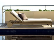 Recliner Canax® garden daybed with Casters TERRA | Garden daybed with Casters - TRIBÙ