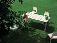Garden table SUSHI OUTDOOR - Kristalia