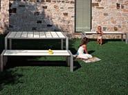 Garden bench SUSHI | Garden bench - Kristalia