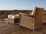 Garden pouf footrest BEAUMONT | Garden footstool - MANUTTI