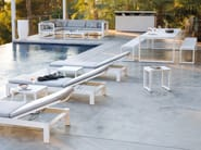 Aluminium garden daybed FUSE | Garden daybed - MANUTTI