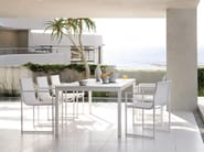 Extending garden table LUNA | Extending table - MANUTTI