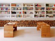 Solid wood bench TAFEL - e15
