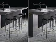 High stool with footrest JANET - BD Barcelona Design
